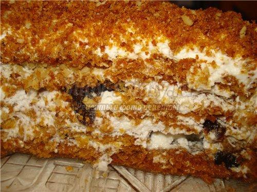 Вкусный медовый торт. Рецепт торта «Особенный»