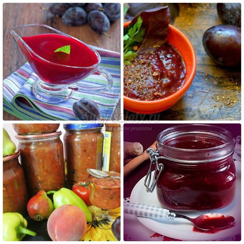 Соус из сливы в домашних условиях: готовим вкусно! Полезные рецепты с фото.
