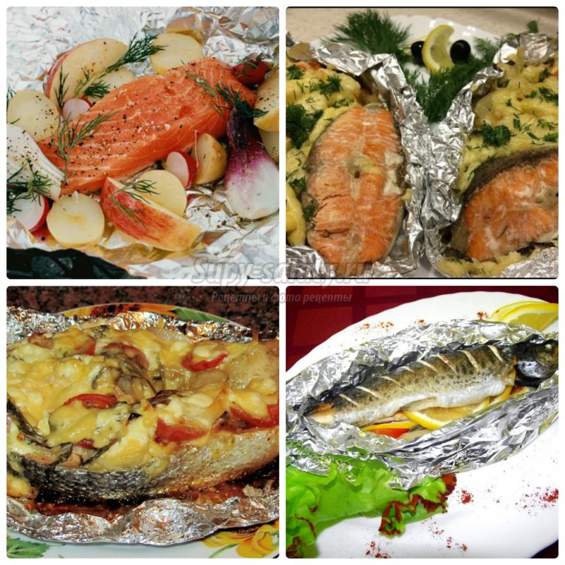 Рецепт запеченной рыбы в домашних условиях