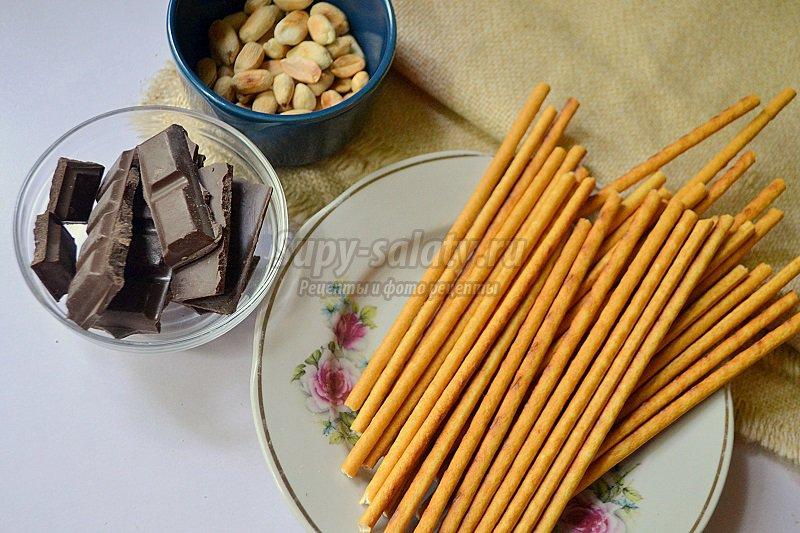 соломка в шоколаде