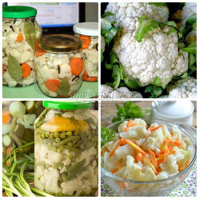 Рецепты цветной капусты с фото пошагово