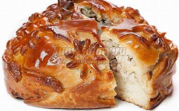Пироги как украшение праздничного застолья