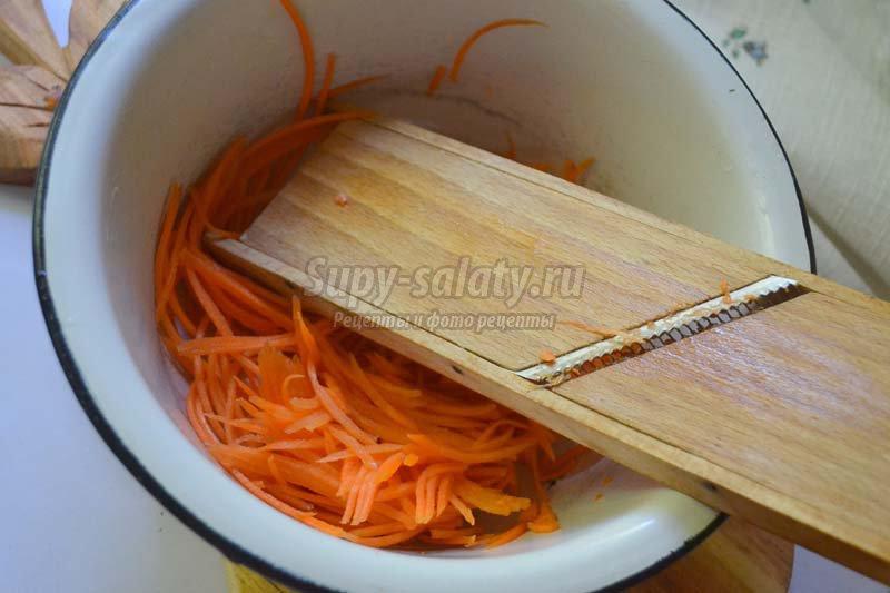 рулет из баклажанов с морковью