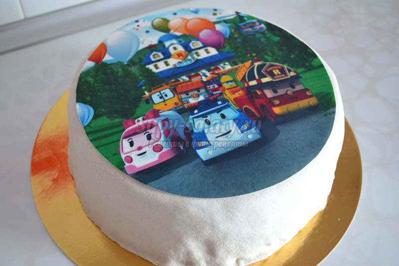 картинки украшения тортов