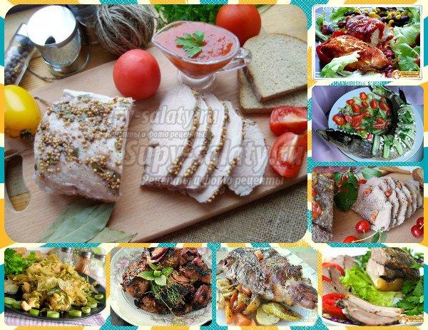 рецепты из мяса и овощей в духовке