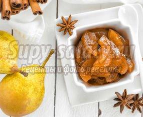 Варенье из груш: простые рецепты для хозяюшек