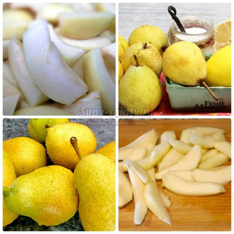 Варенье из груш дольками. ТОП-10 рецептов с фото