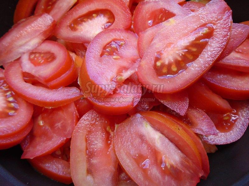 закуска из помидор и перца