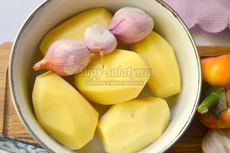 скумбрия с картофелем в духовке