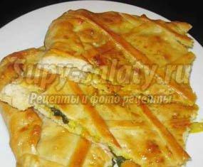Пирог с треской: простой рецепт