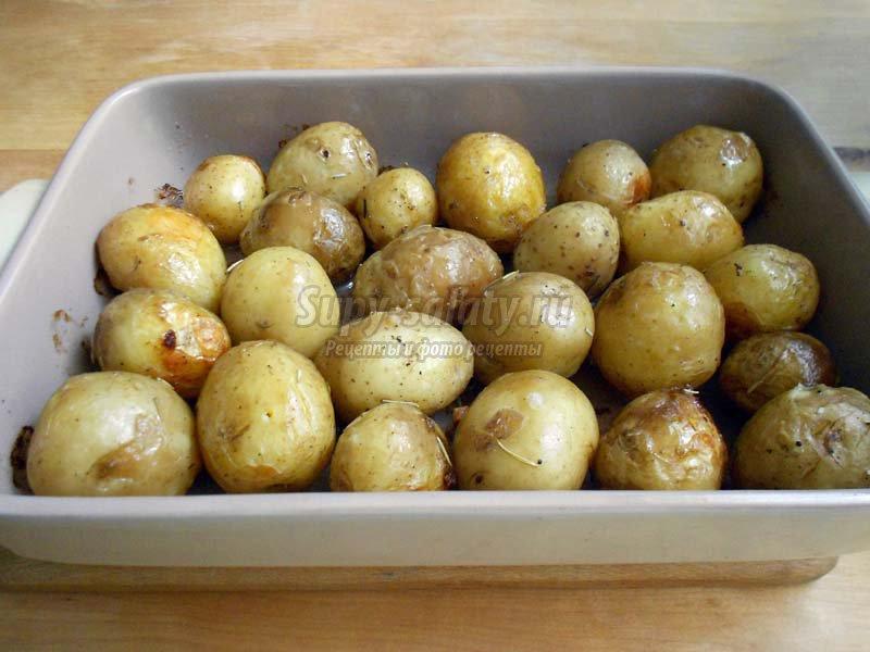 запеченная картошка в духовке рецепт с фото