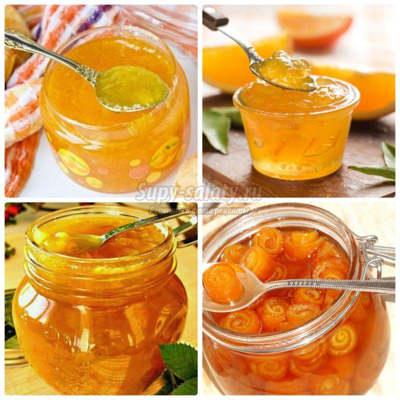 Варенье из яблок и апельсинов рецепт