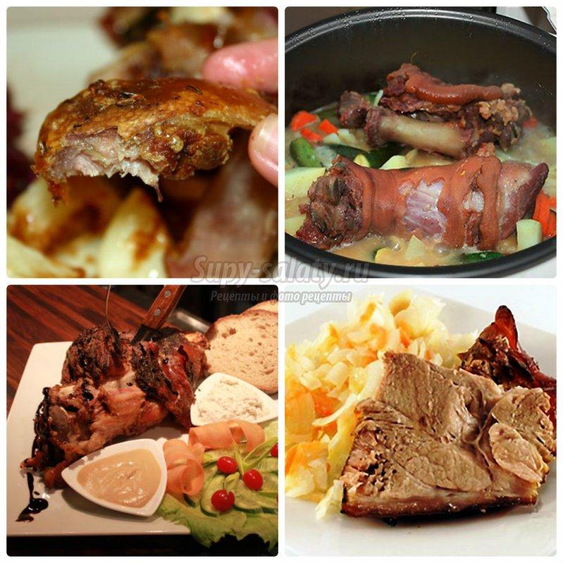 Как приготовить рульку свиную в духовке: лучшие рецепты с фото