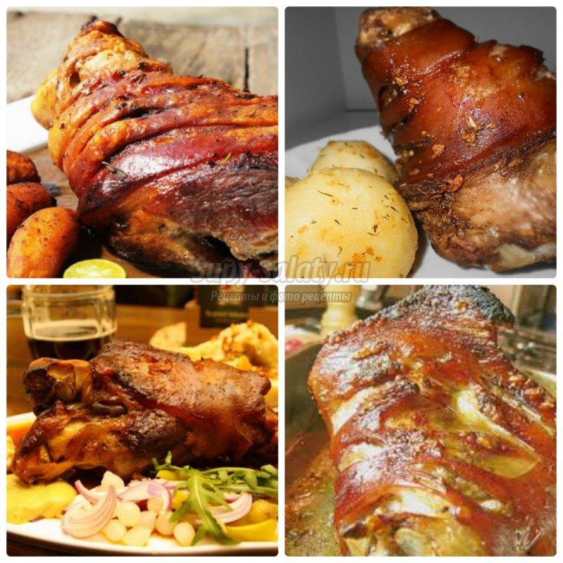 Приготовить свиную рульку в духовке рецепт 93