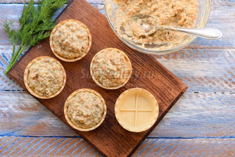 закуска грибы сыром