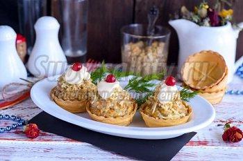 закуска из шампиньонов с сыром