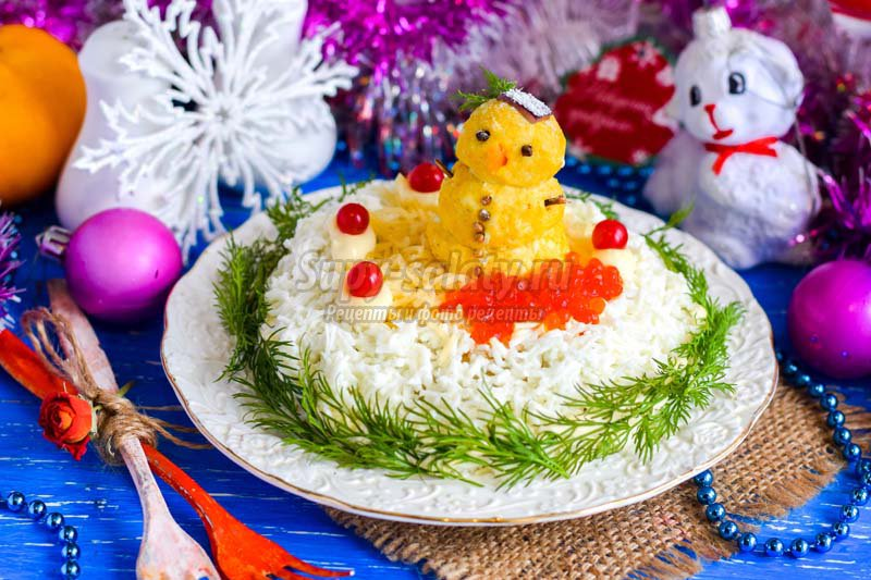мясной салат с грибами рецепт с фото