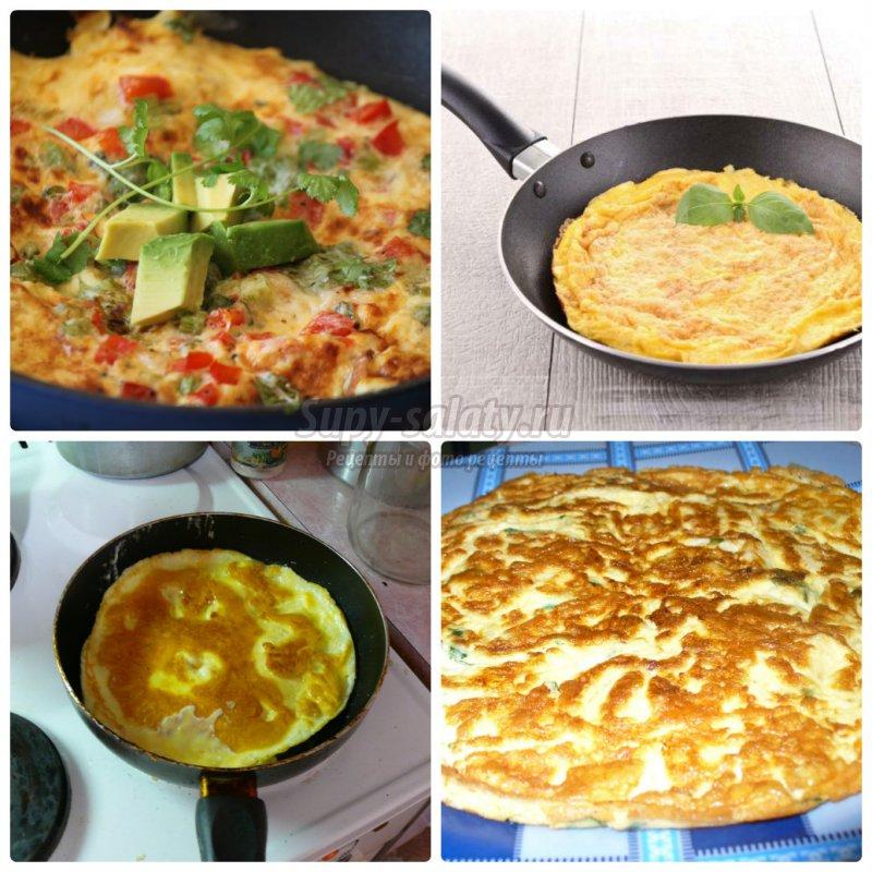 как приготовить омлет на сковороде: золотые рецепты с пошаговыми фото