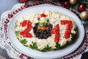 рецепт столичный салат с индейки