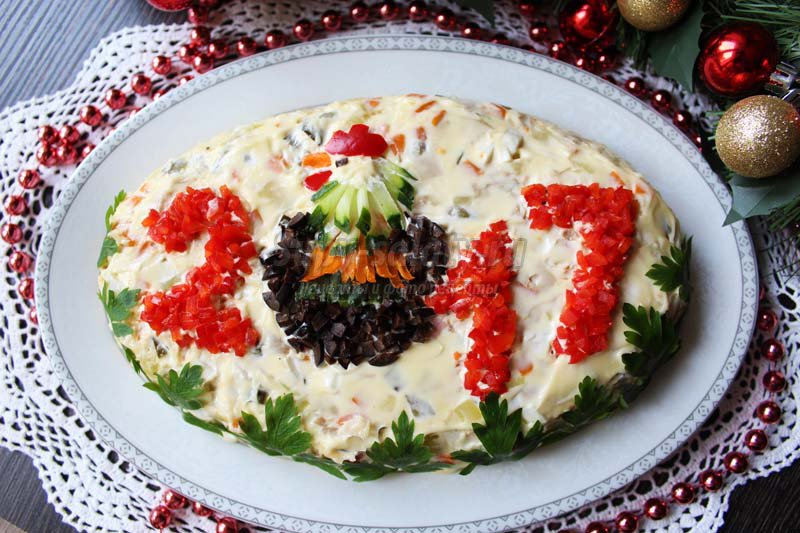 салат с индейкой рецепт
