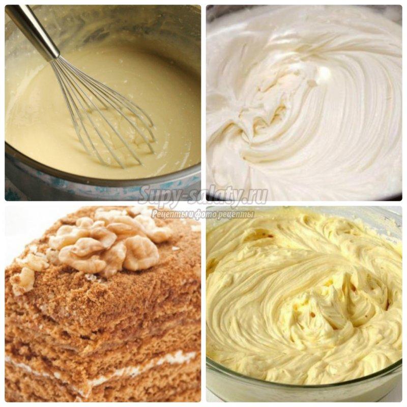 крем для торта из сгущенки. Пошаговые рецепты с фото