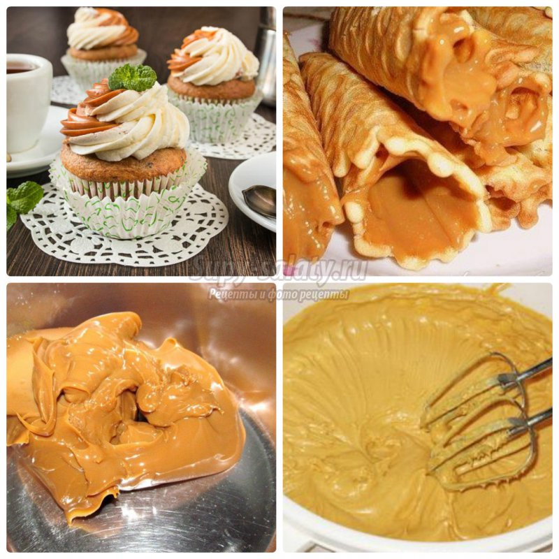 Торт с кремом из масла и сгущенки рецепт с фото