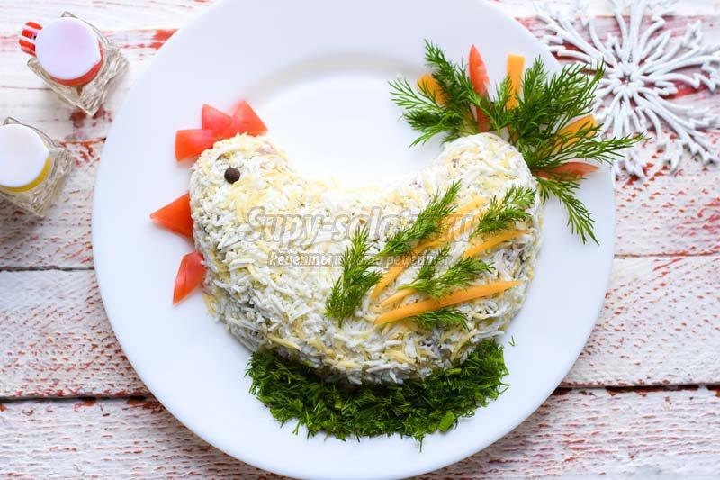 Салат петушок рецепт фото