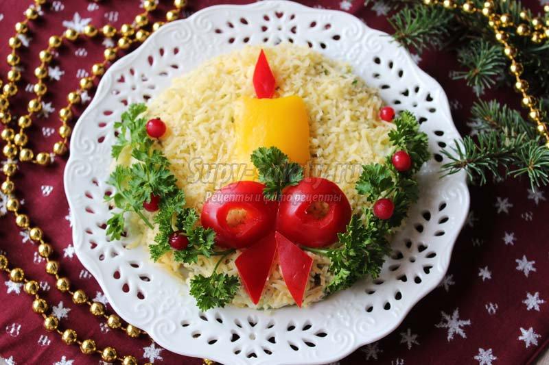 салат с языком и горошком рецепты с фото
