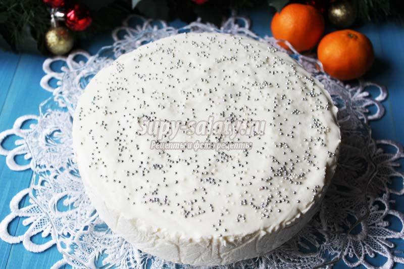 Новогодние торты рецепты с фотографиями