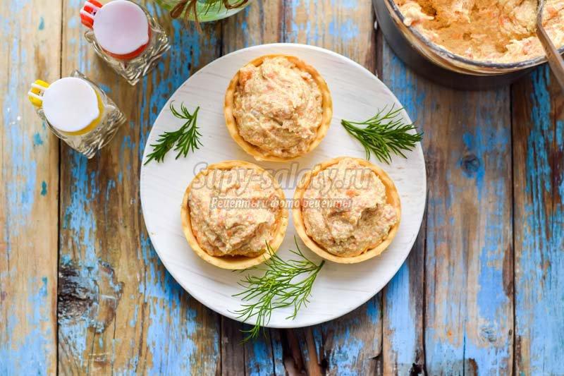 закуска из сельди с плавленным сыром
