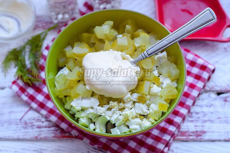 Вешенки салат рецепт фото