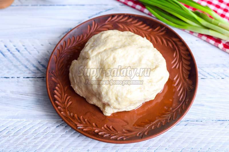 пирог с капустой яйцом и зеленым луком