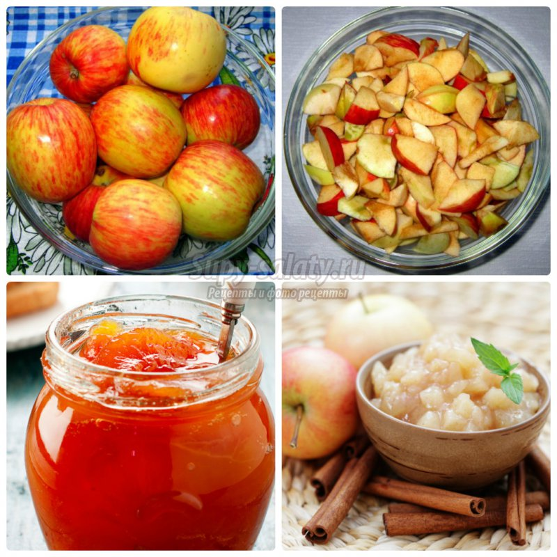 яблочное варенье дольками на зиму. Вкусные рецепты с фото