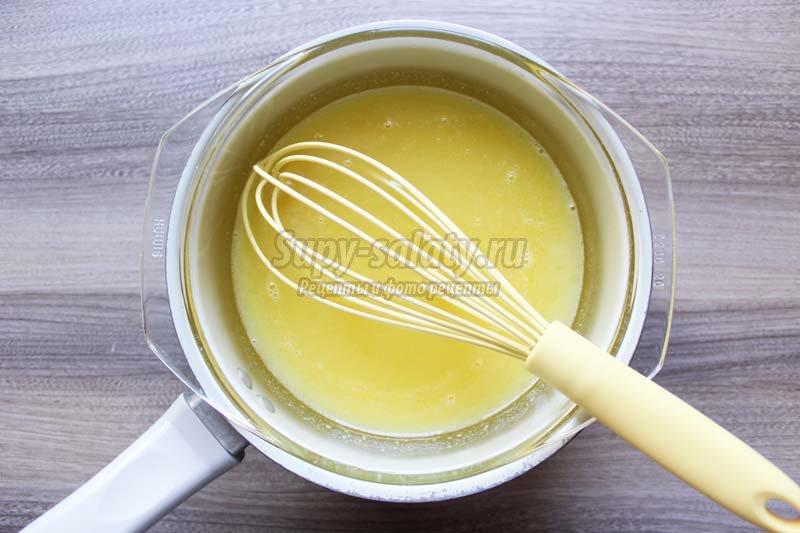 рулет лимонный с фото