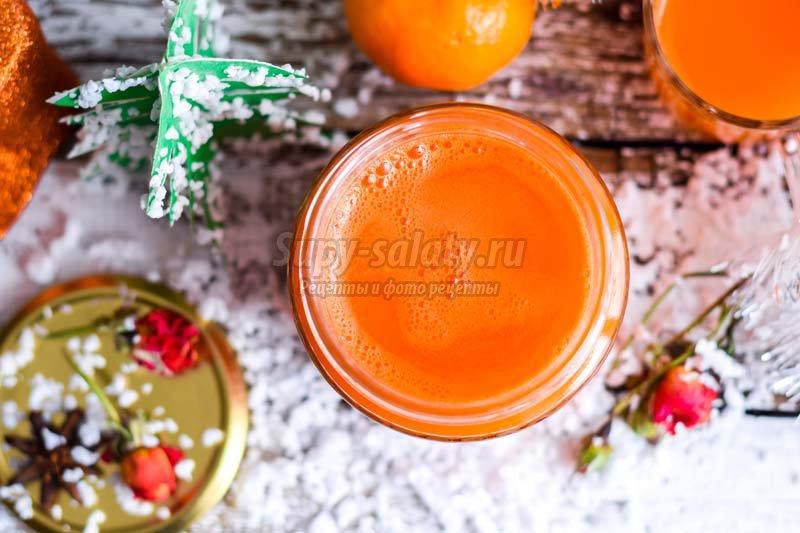 тыквенно морковный сок рецепт