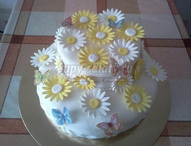 Украшение торта своими руками: самые популярные варианты
