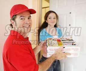 Доставка пиццы. Когда заказывают пиццу?