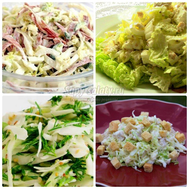 салат с курицей и капустой: ТОП-10 рецептов с фото