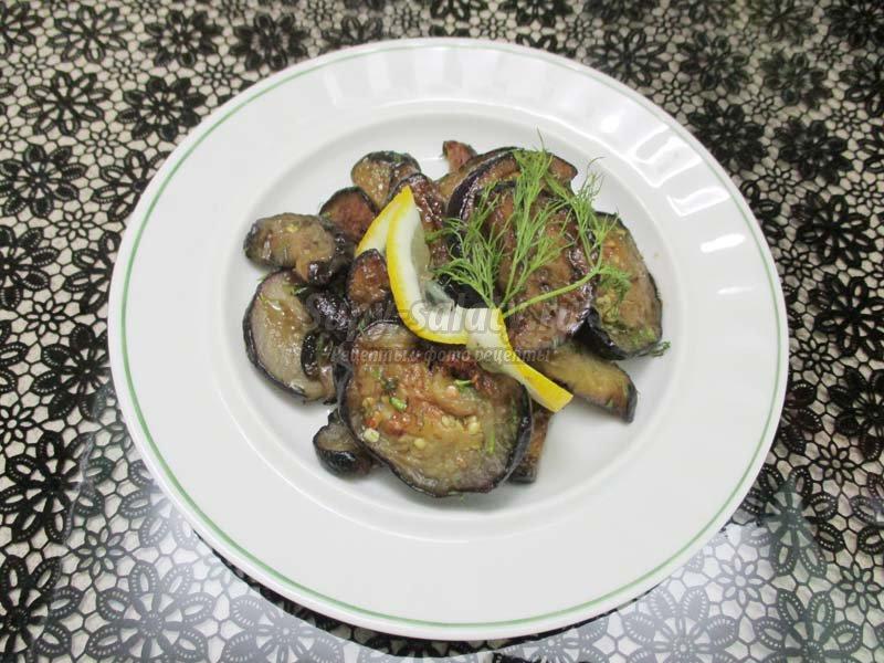 салат баклажаны под грибы