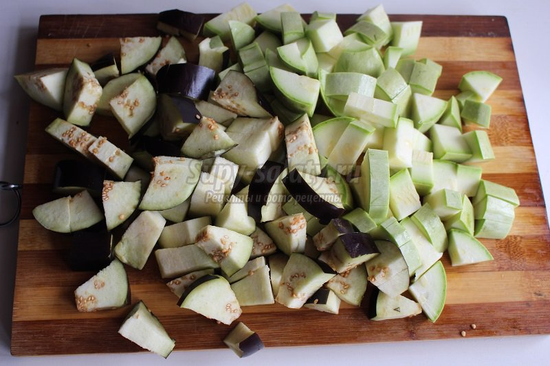 овощное рагу с фасолью
