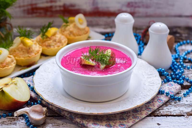 рецепты супов со свеклой