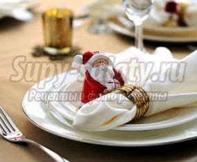 как украсить новогодний стол 2018 своими руками. Рецепты вкусных блюд к столу.