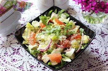 Рецепты салатов c курицей