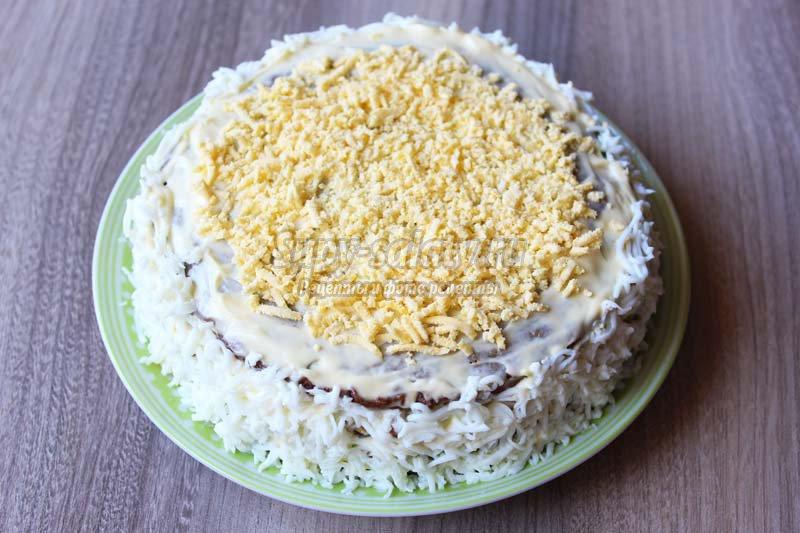 торт из куриной печени рецепт