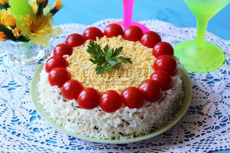 торт из печени куриной рецепт с фото