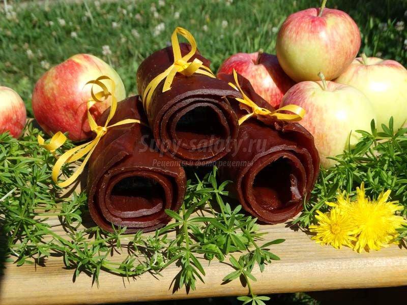 домашняя яблочная пастила рецепт
