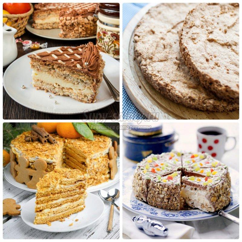 рецепти смачних тортів з фото