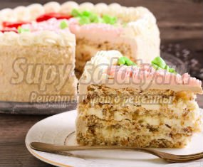 торт киевский: вкусные рецепты с фото.