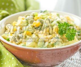Салат с луком и яйцом. Вкусные весенние варианты