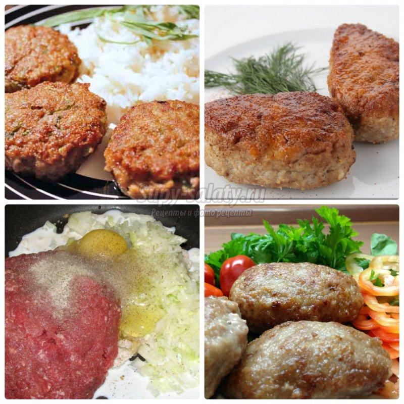 Котлеты по киевски с фарша рецепт с пошагово
